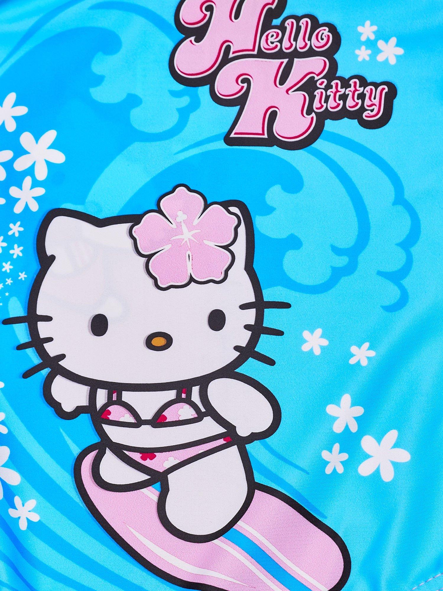 Niebieski strój kąpielowy dla dziewczynki HELLO KITTY                                  zdj.                                  5