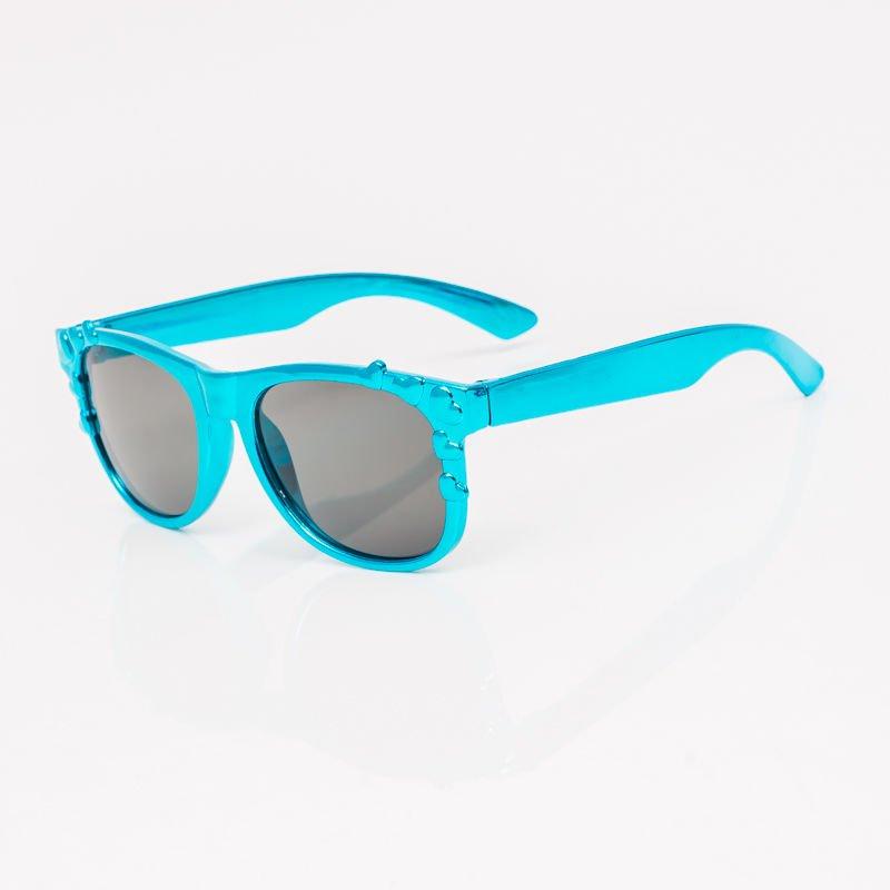 e4ab3d6ebc9e16 1 · Niebieskie Dziecięce Okulary przeciwsłoneczne Z Metalicznym Połyskiem  ...