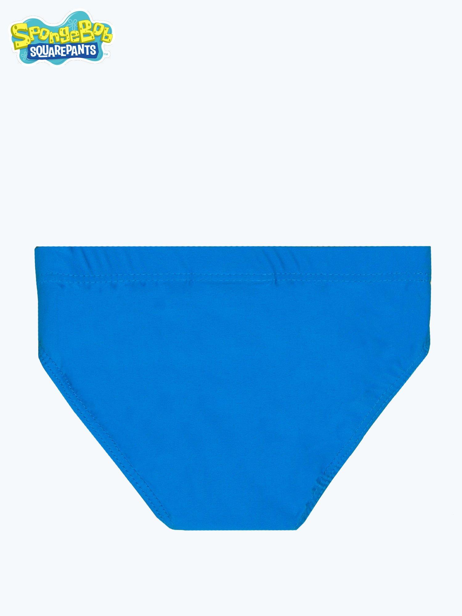 Niebieskie chłopięce kąpielówki SPONGEBOB                                  zdj.                                  2