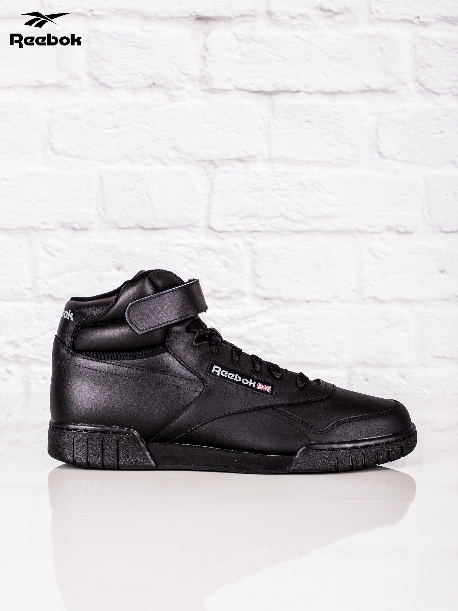 d6a330b448afc7 REEBOK Czarne buty sportowe męskie Ex-O-Fit Hi - Mężczyźni Buty ...