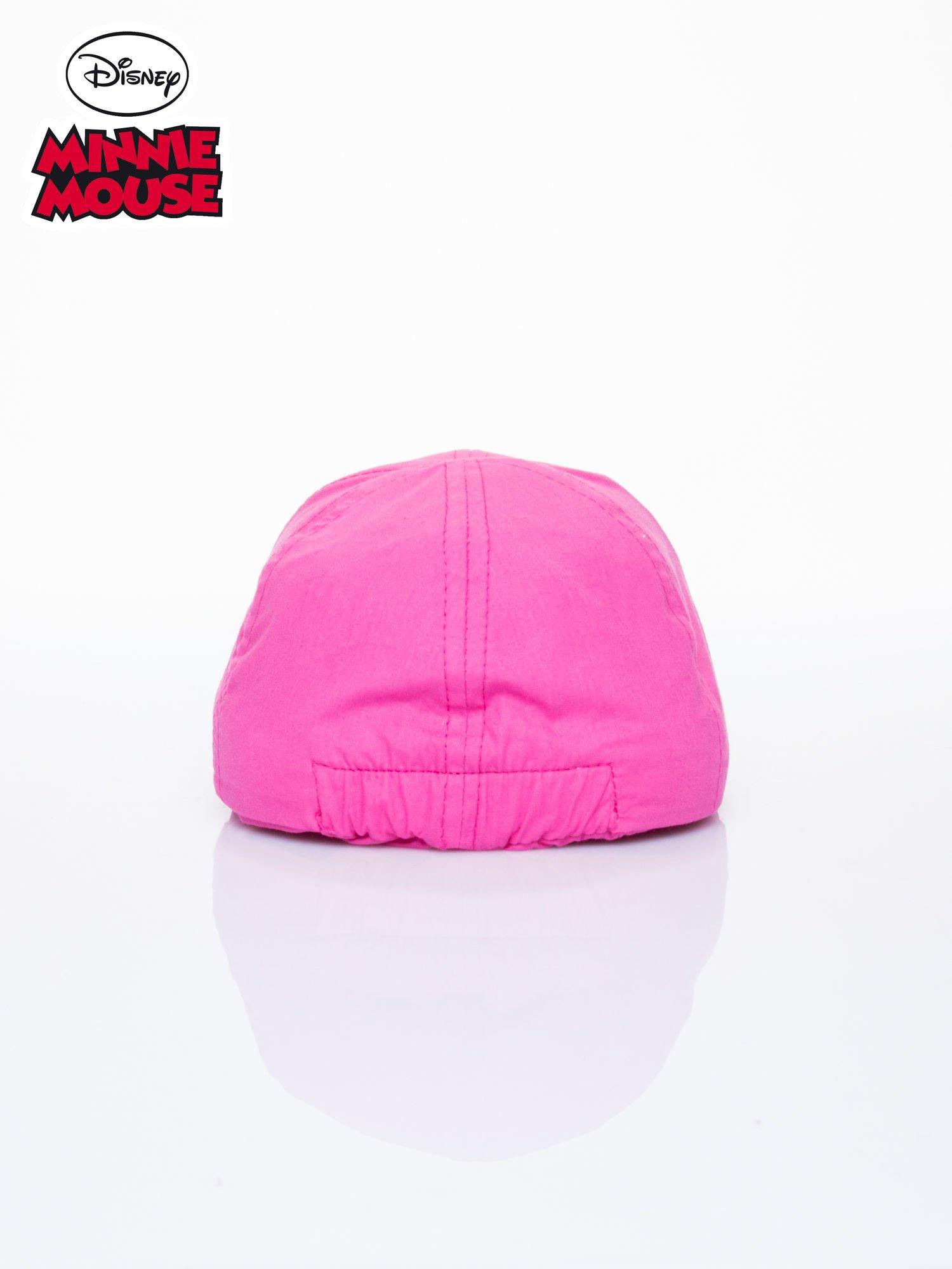 Różowa czapka z daszkiem dla dziewczynki MINNIE MOUSE                                  zdj.                                  3