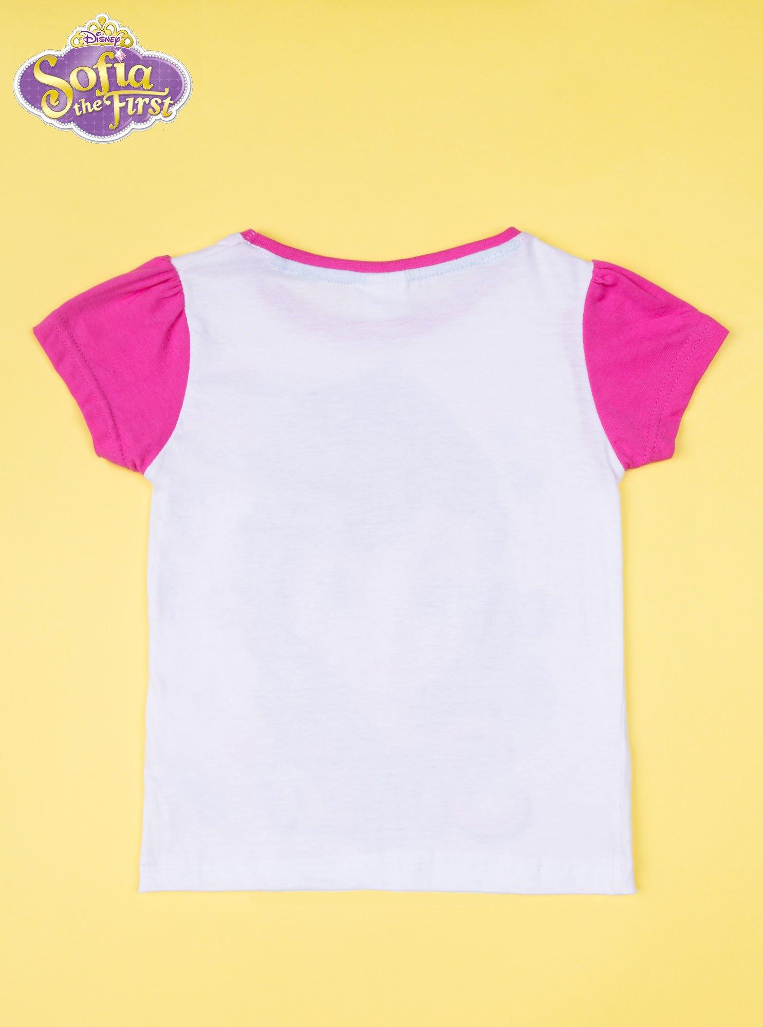 Różowa piżama dla dziewczynki JEJ WYSOKOŚĆ ZOSIA                                  zdj.                                  3