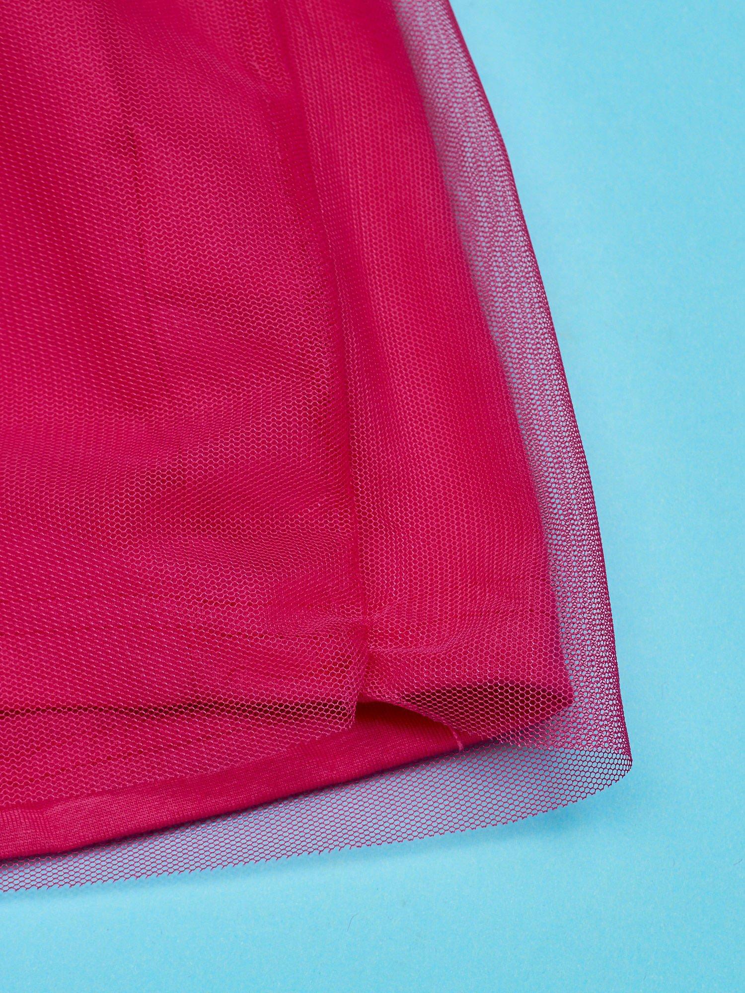 Różowa sukienka bez rękawów dla dziewczynki MINNIE MOUSE                                  zdj.                                  4