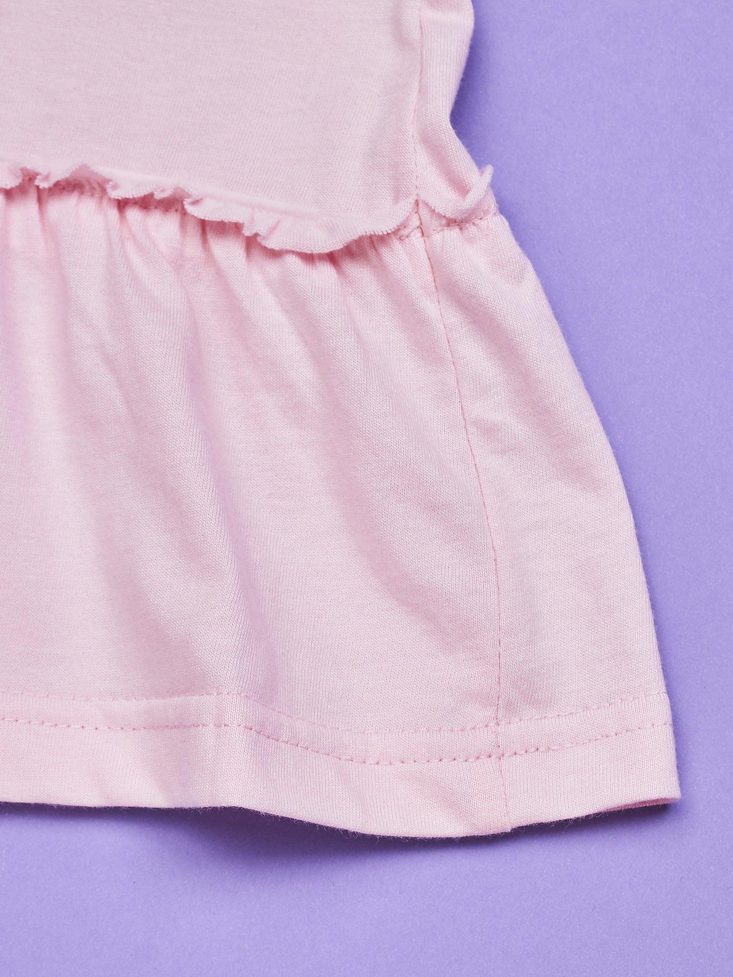 Różowa sukienka dla dziewczynki HELLO KITTY                                  zdj.                                  3
