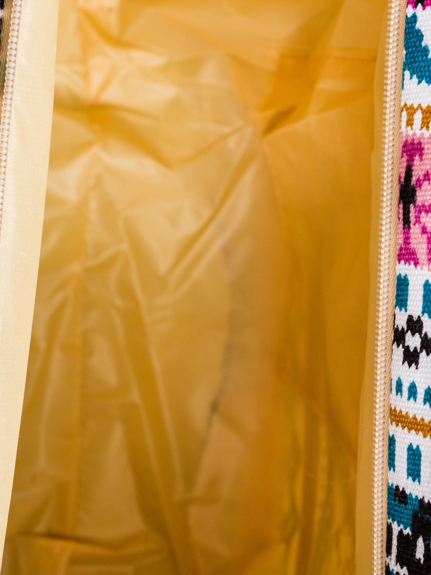 Różowa torba plażowa w azteckie wzory                                  zdj.                                  10
