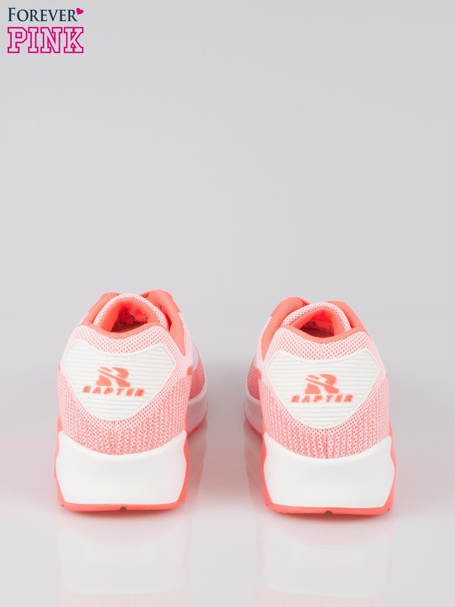 Różowe adidasy damskie na podeszwie z poduszką powietrzną                                  zdj.                                  3