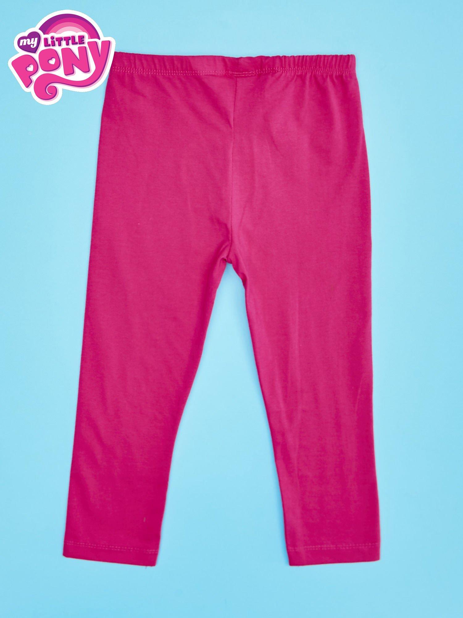 Różowe legginsy dla dziewczynki MY LITTLE PONY                                  zdj.                                  2