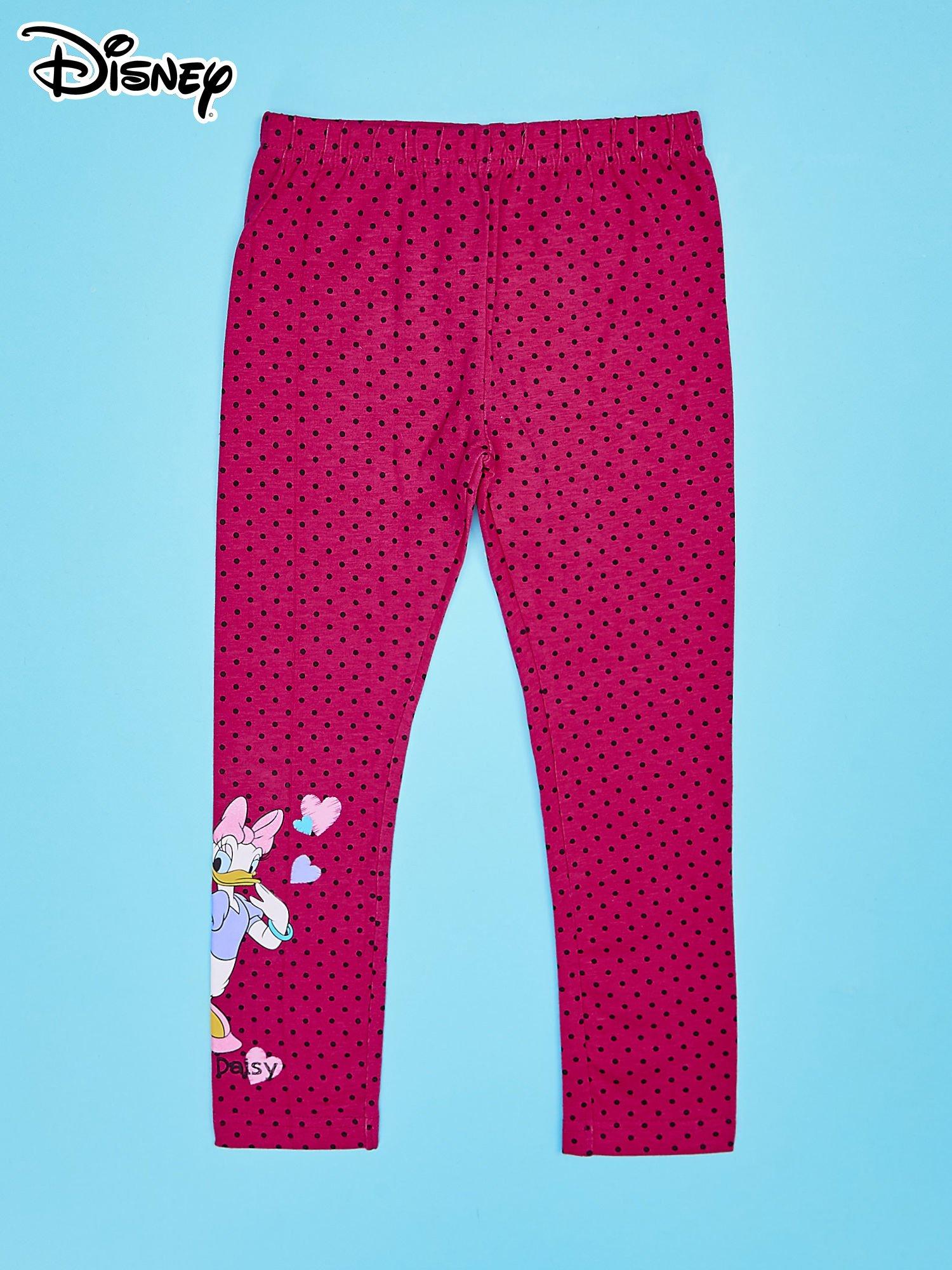 Różowe legginsy w groszki dla dziewczynki DAISY                                  zdj.                                  1