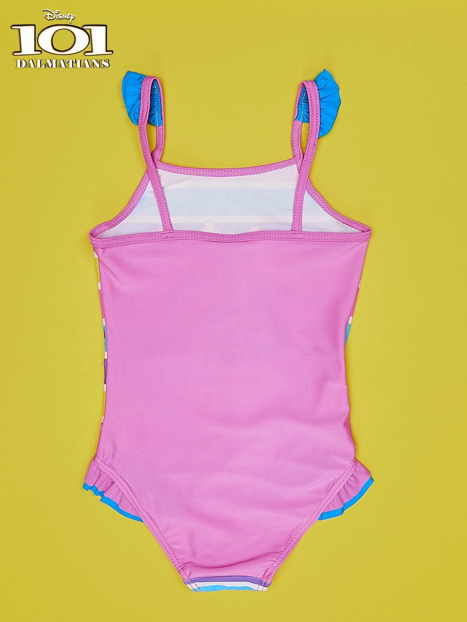 Różowy strój kąpielowy dla dziewczynki 101 DALMATYŃCZYKÓW                                  zdj.                                  2