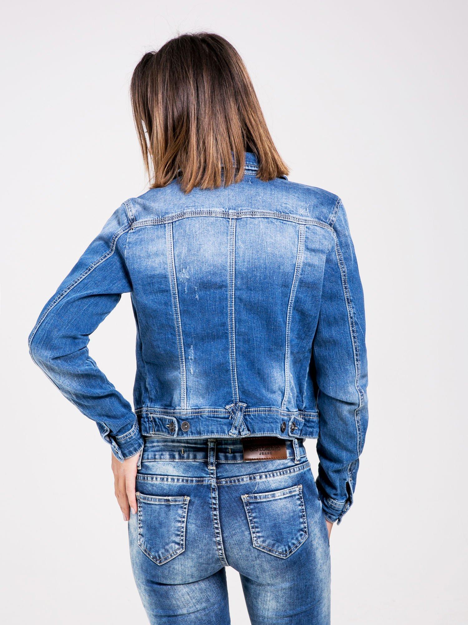 STRADIVARIUS Kurtka jeansowa z cieniowanego denimu                                  zdj.                                  2