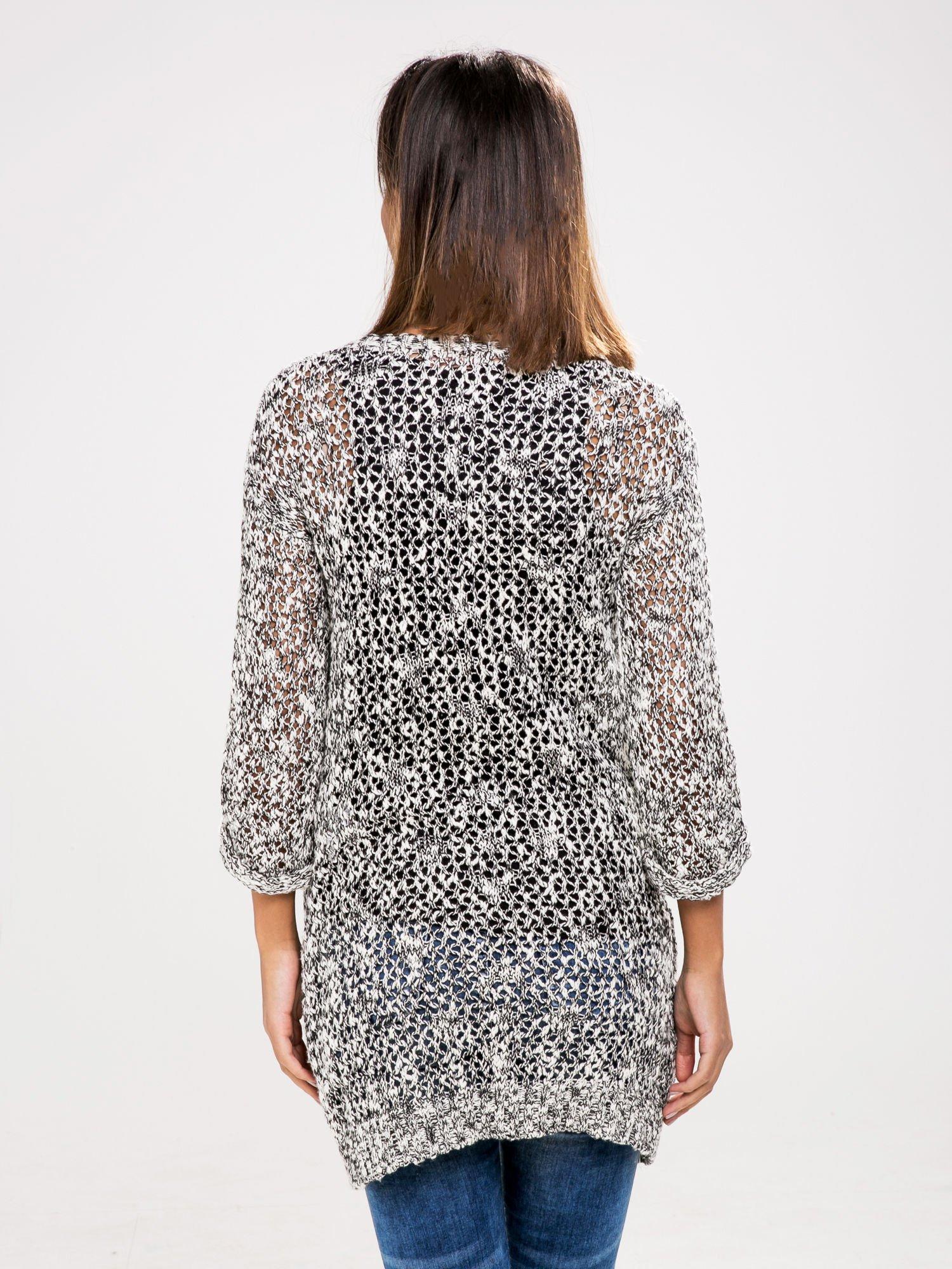STRADIVARIUS Szary sweter kardigan z kieszeniami                                  zdj.                                  2
