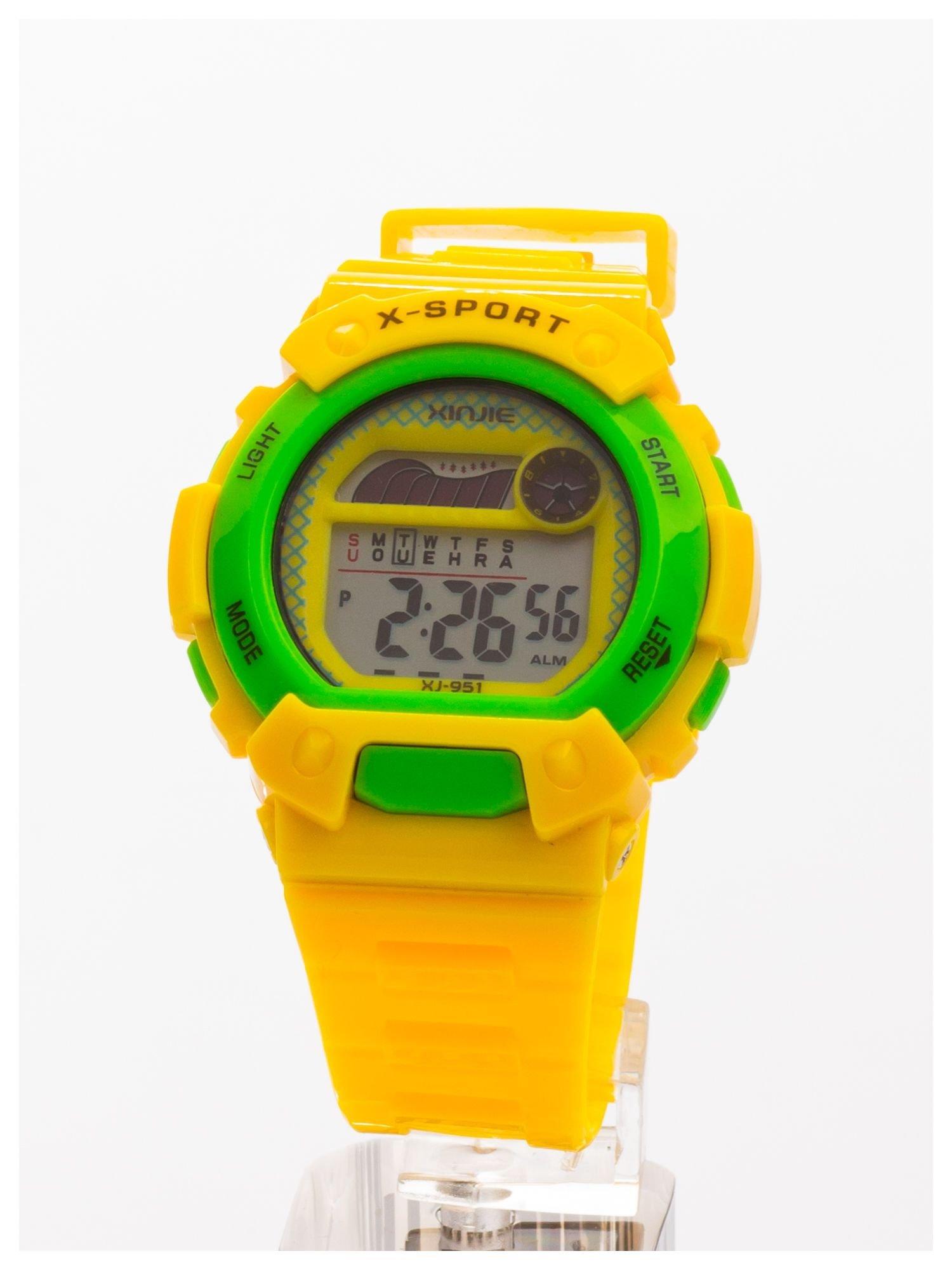 Sportowy zegarek wielofunkcyjny.Unisex. Wodoodporny.                                   zdj.                                  1