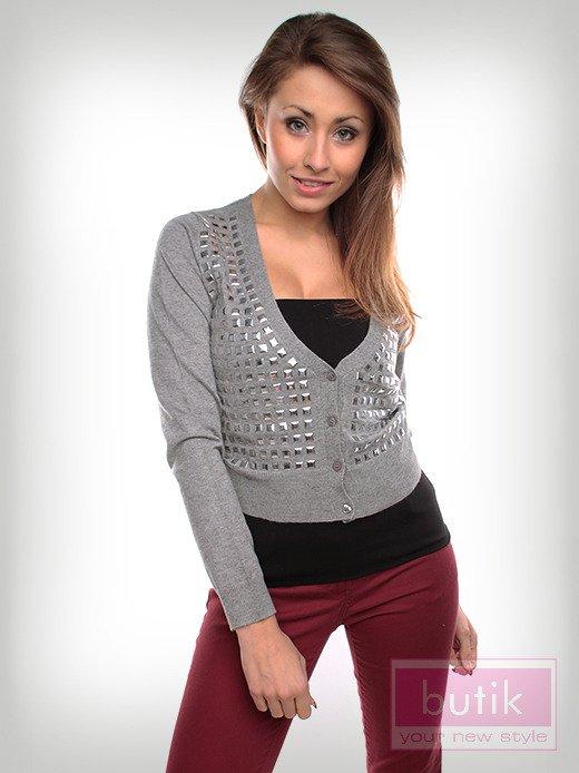Sweter z dżetami                                  zdj.                                  2