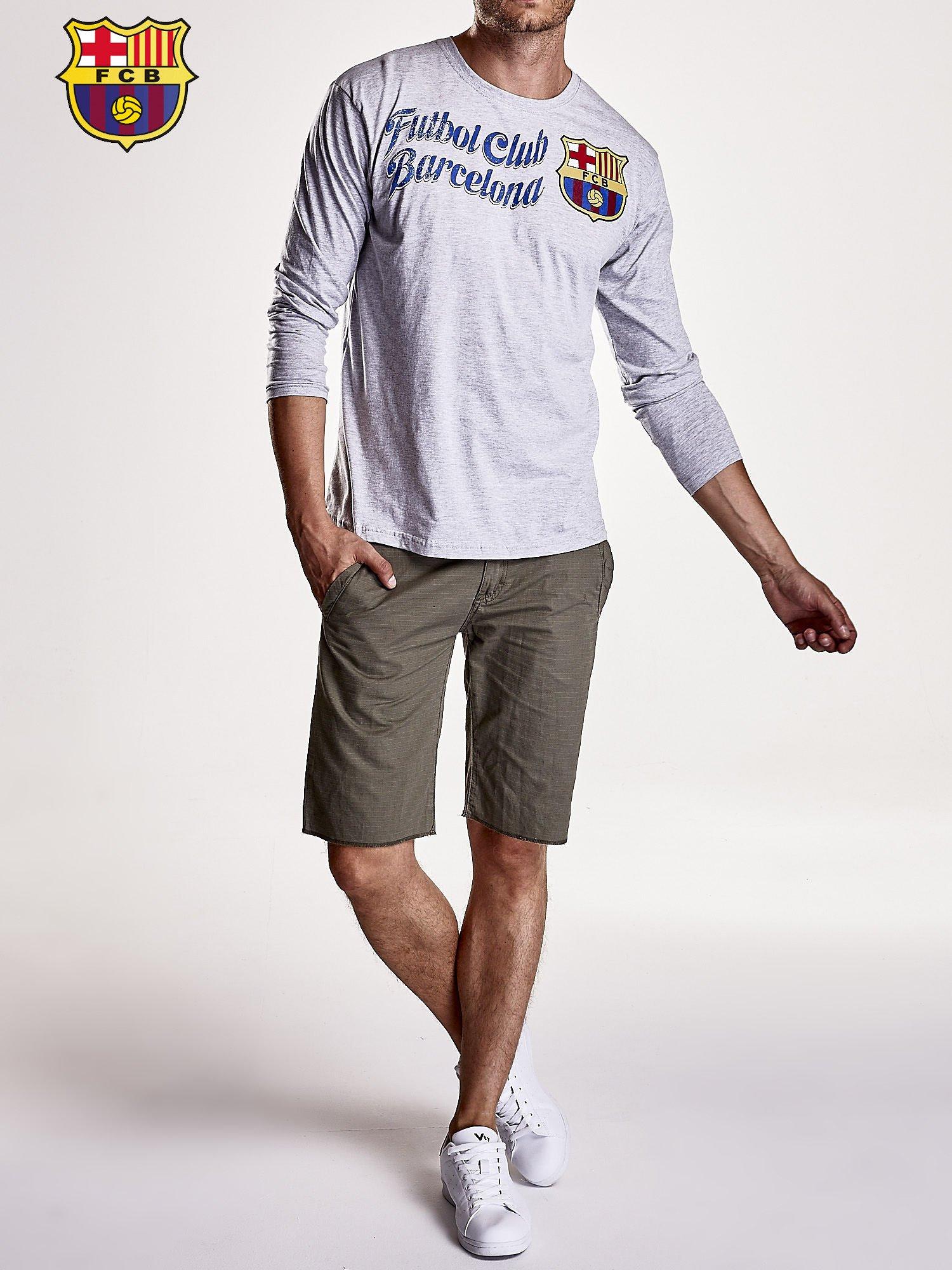 Szara bluzka męska FC BARCELONA                                  zdj.                                  8
