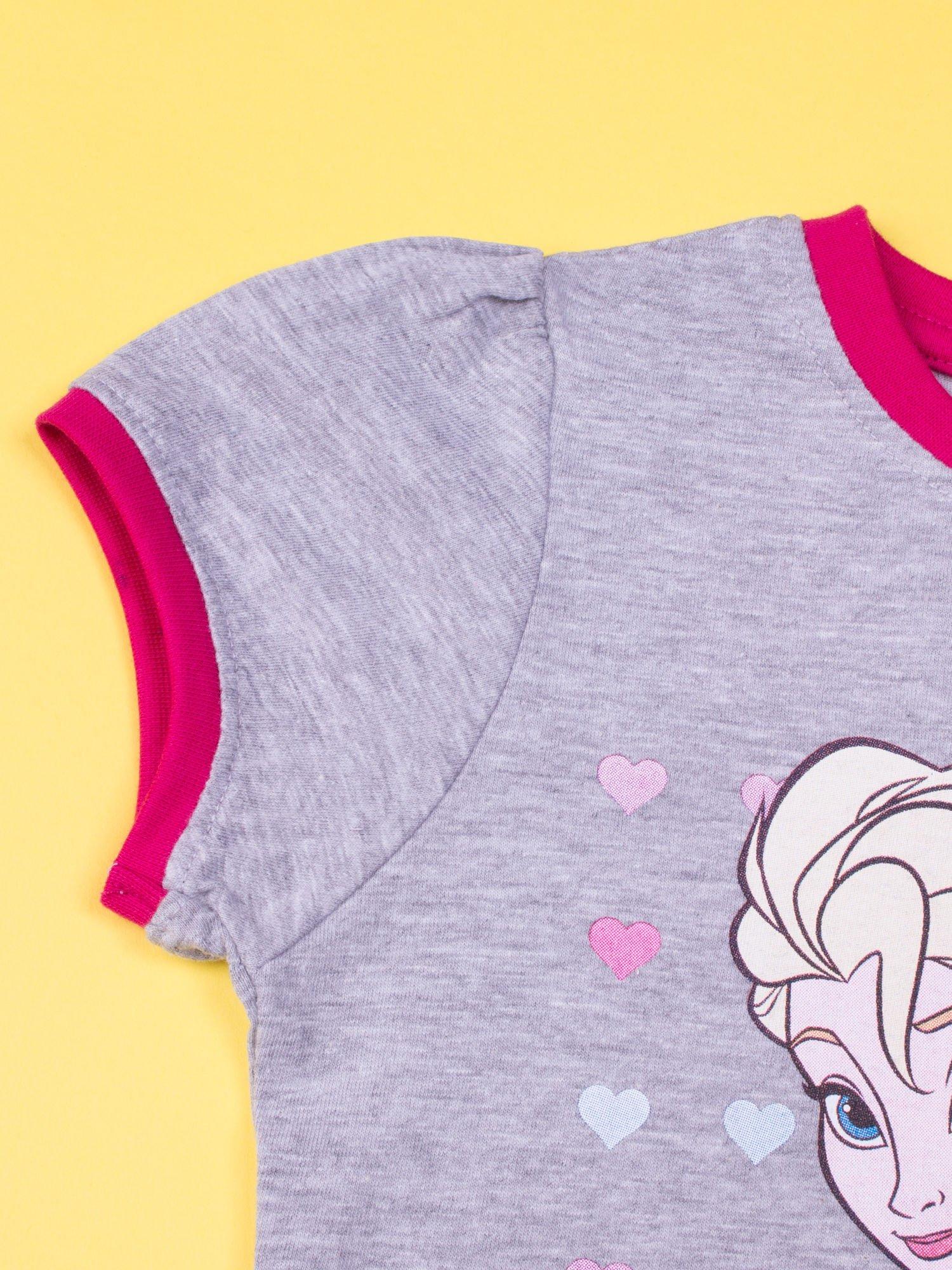Szara piżama dla dziewczynki KRAINA LODU                                  zdj.                                  5