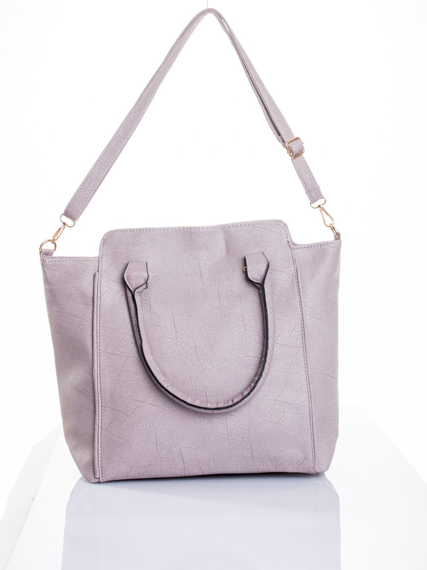 Szara torba shopper bag                                  zdj.                                  6