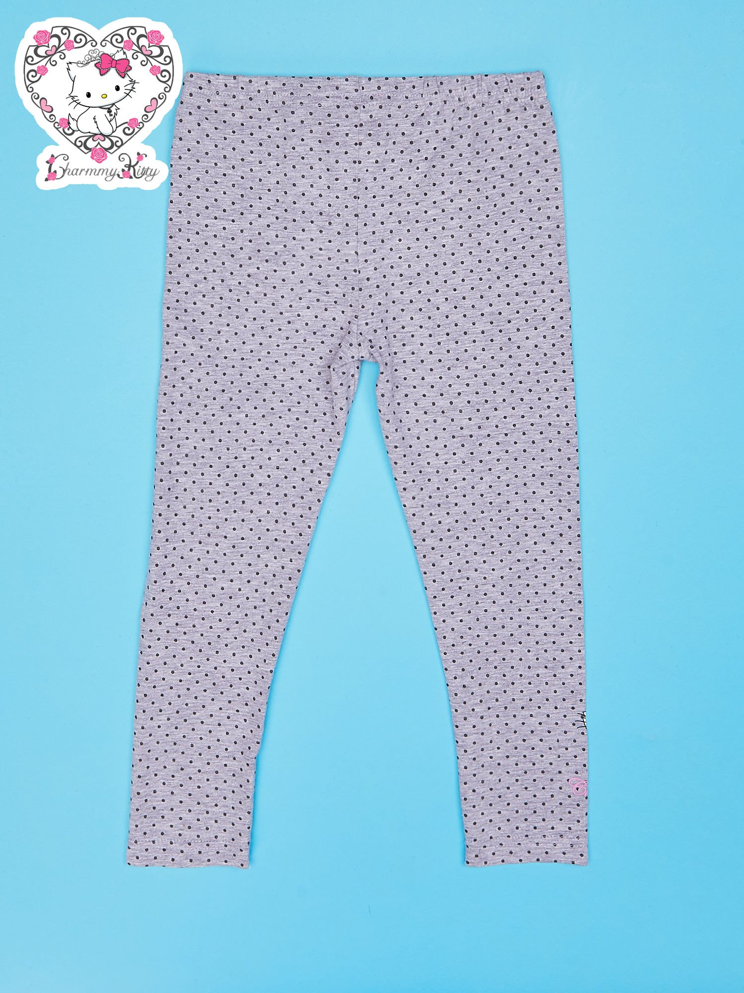 Szare legginsy dla dziewczynki CHARMMY KITTY                                  zdj.                                  2