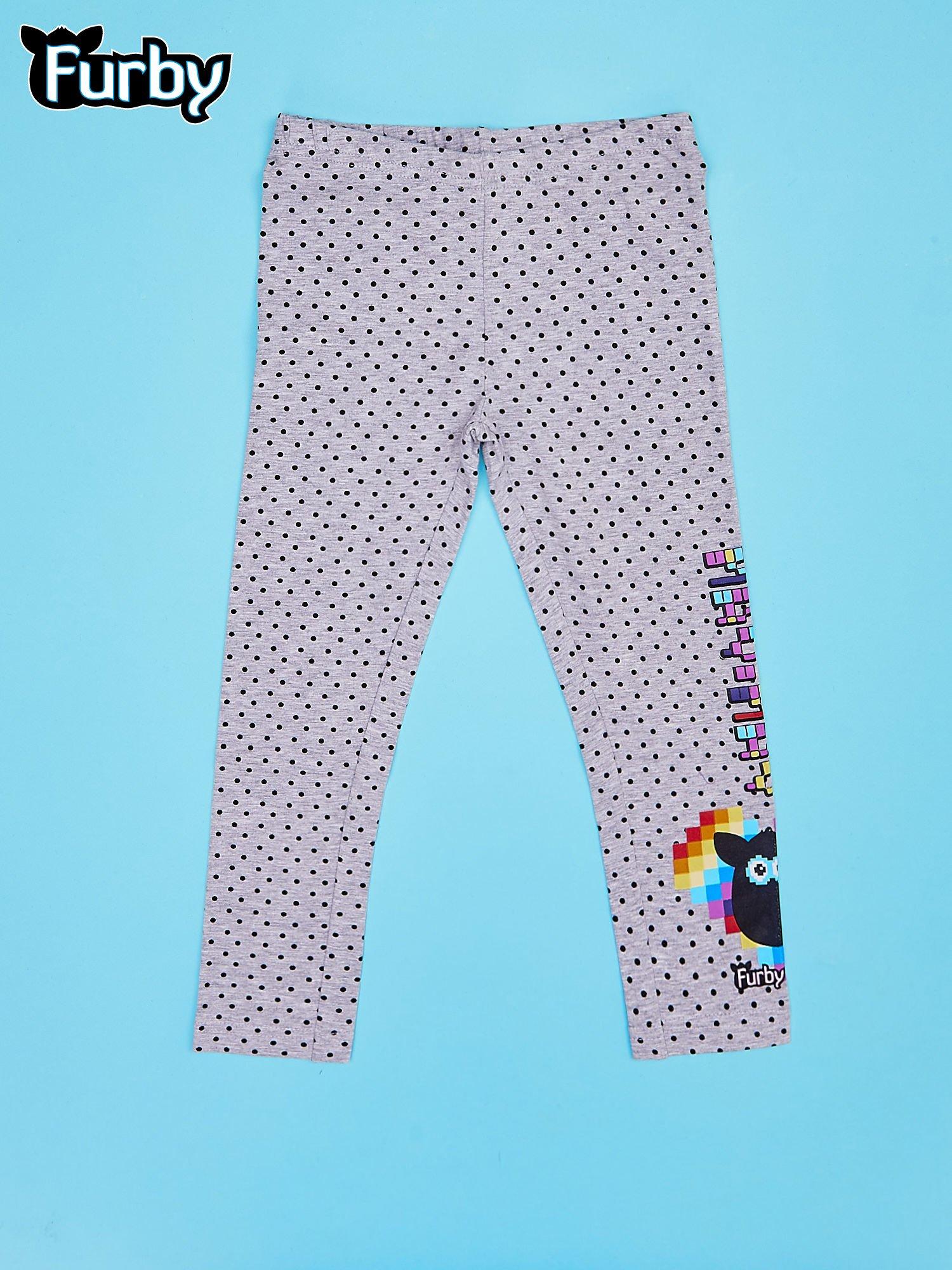 Szare legginsy dla dziewczynki FURBY                                  zdj.                                  1