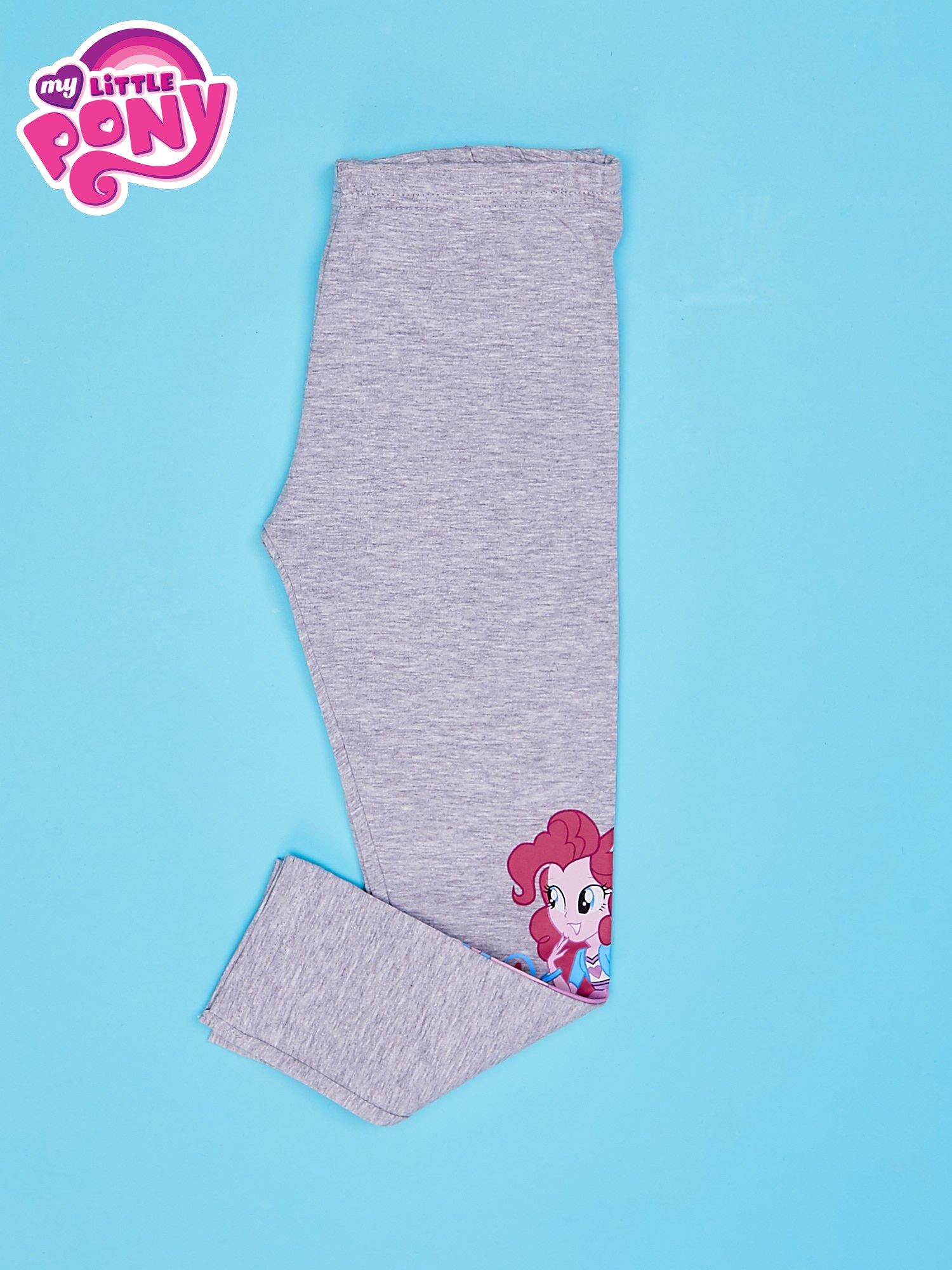 Szare legginsy dla dziewczynki motyw MY LITTLE PONY                                  zdj.                                  3