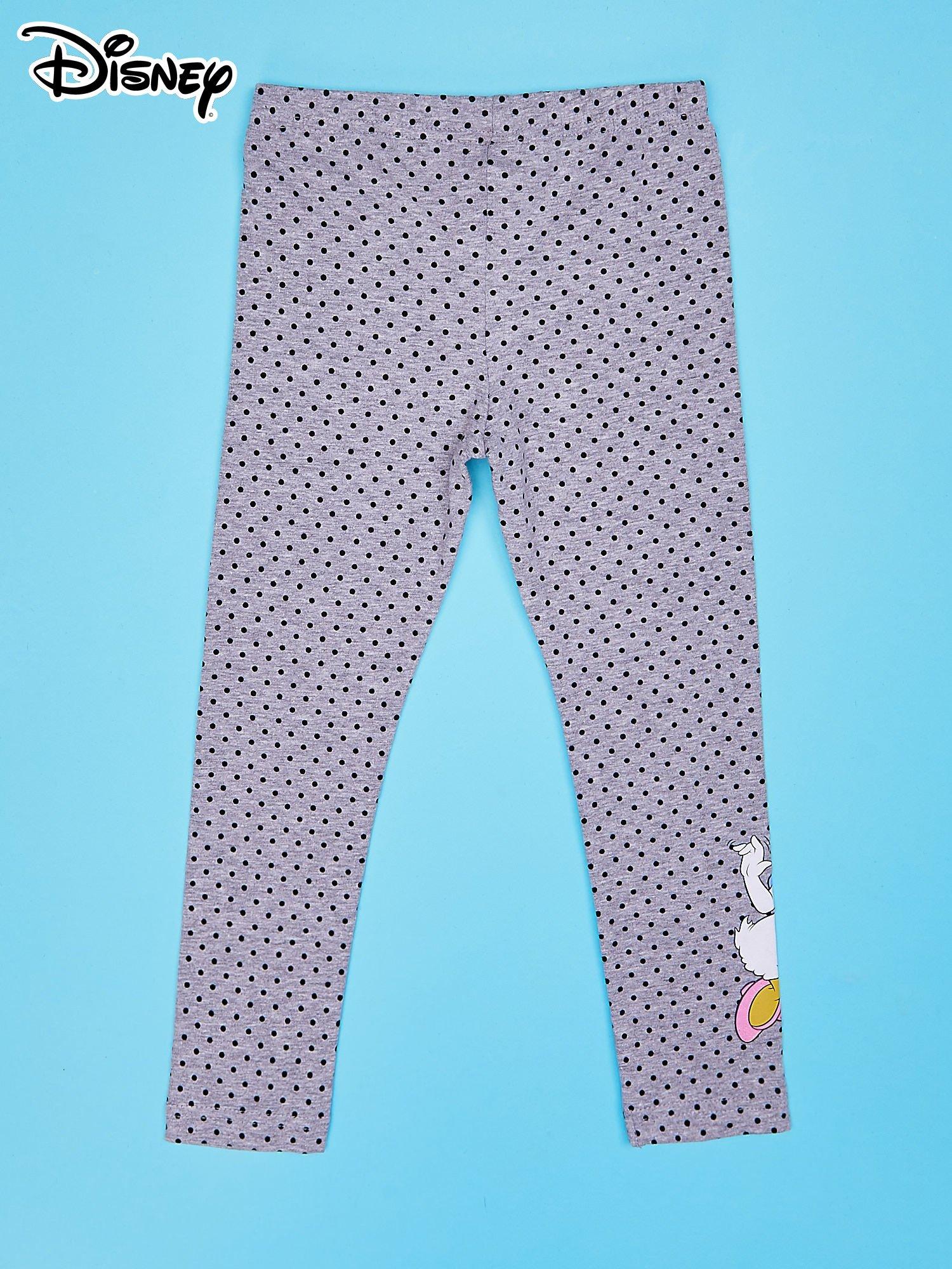 Szare legginsy w groszki dla dziewczynki DAISY                                  zdj.                                  2
