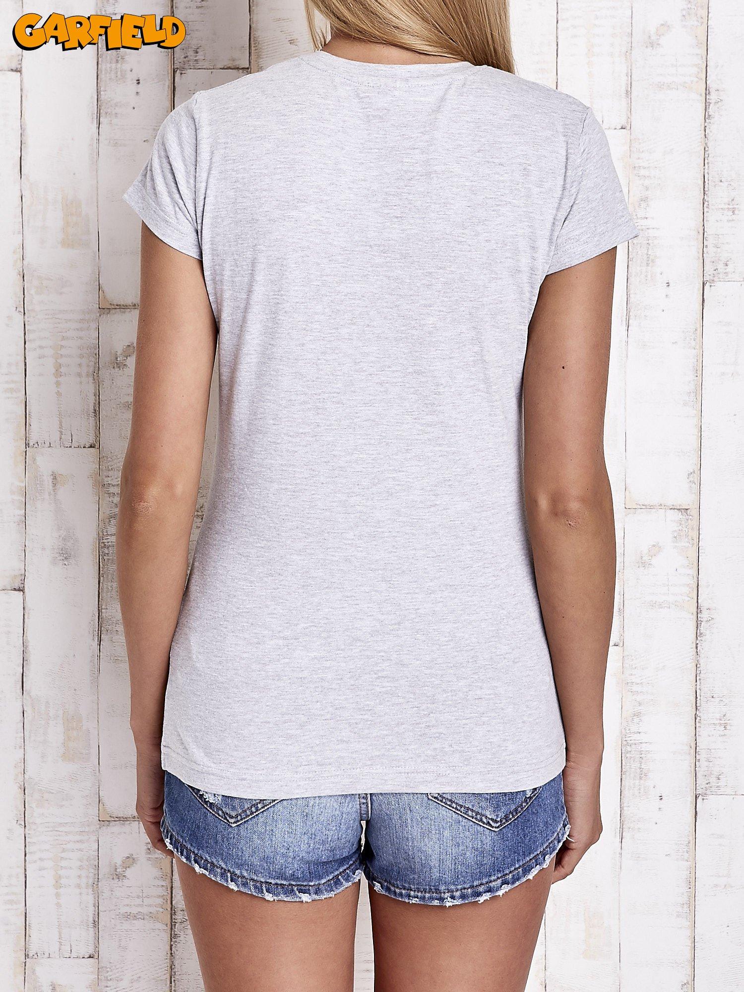 Szary t-shirt GARFIELD                                  zdj.                                  5