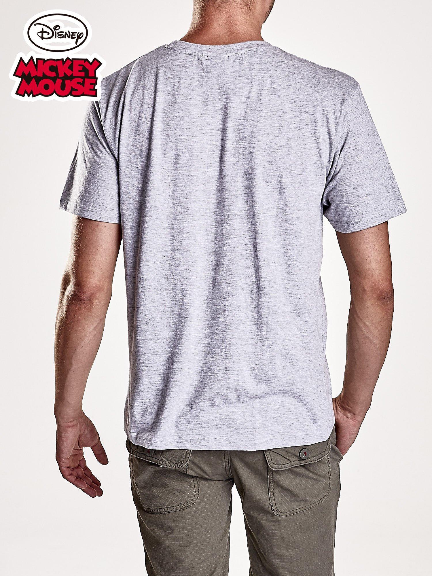 Szary t-shirt męski MICKEY MOUSE                                   zdj.                                  2
