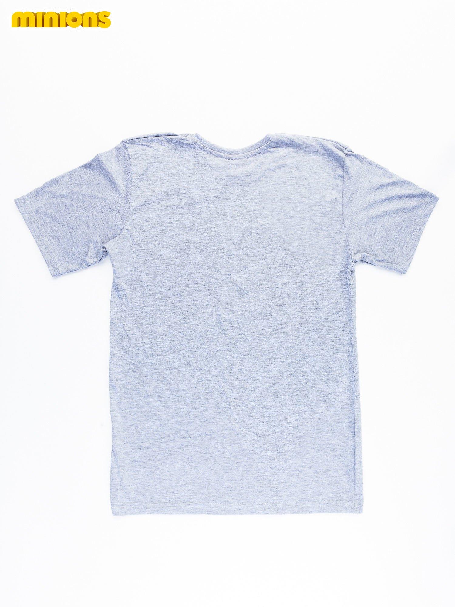 Szary t-shirt męski MINIONS                                   zdj.                                  9