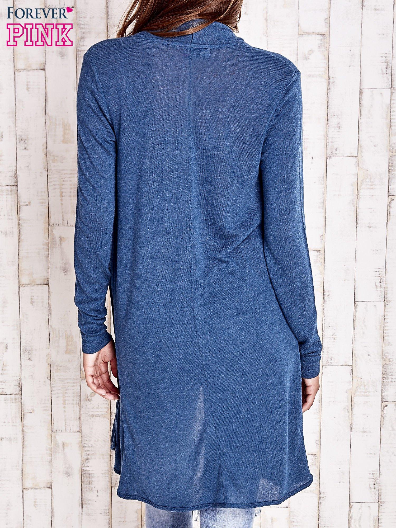 Turkusowy długi sweter                                   zdj.                                  4