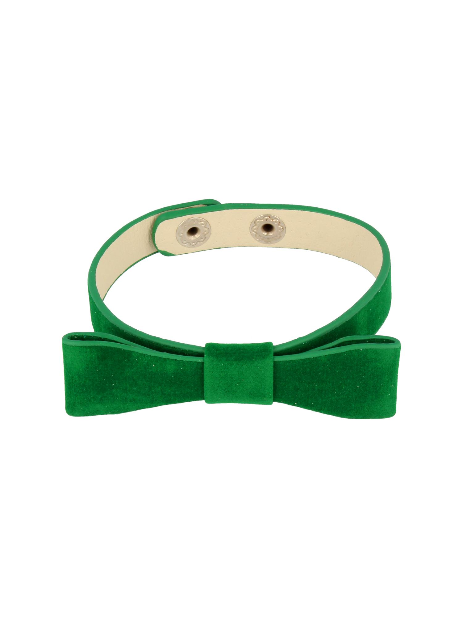 Zielona Bransoletka z kokardką                                  zdj.                                  3