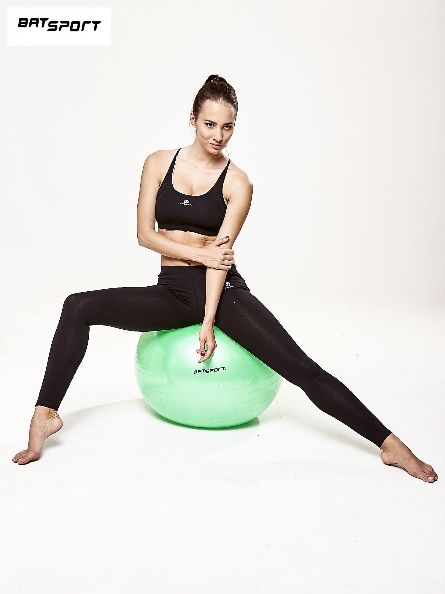 Zielona średnia piłka do fitnessu                                  zdj.                                  6