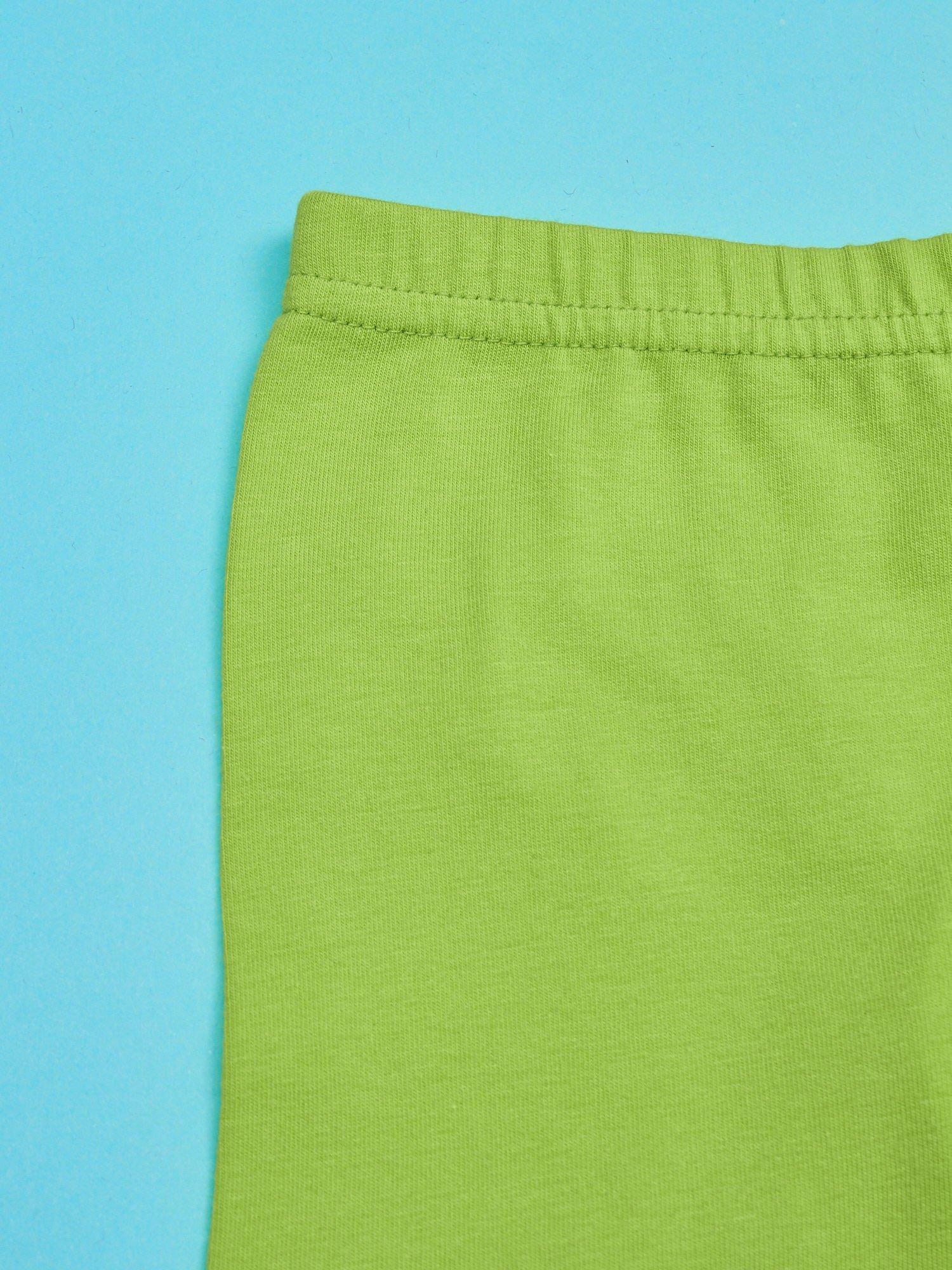 Zielone legginsy dla dziewczynki z nadrukiem MY LITTLE PONY                                  zdj.                                  3