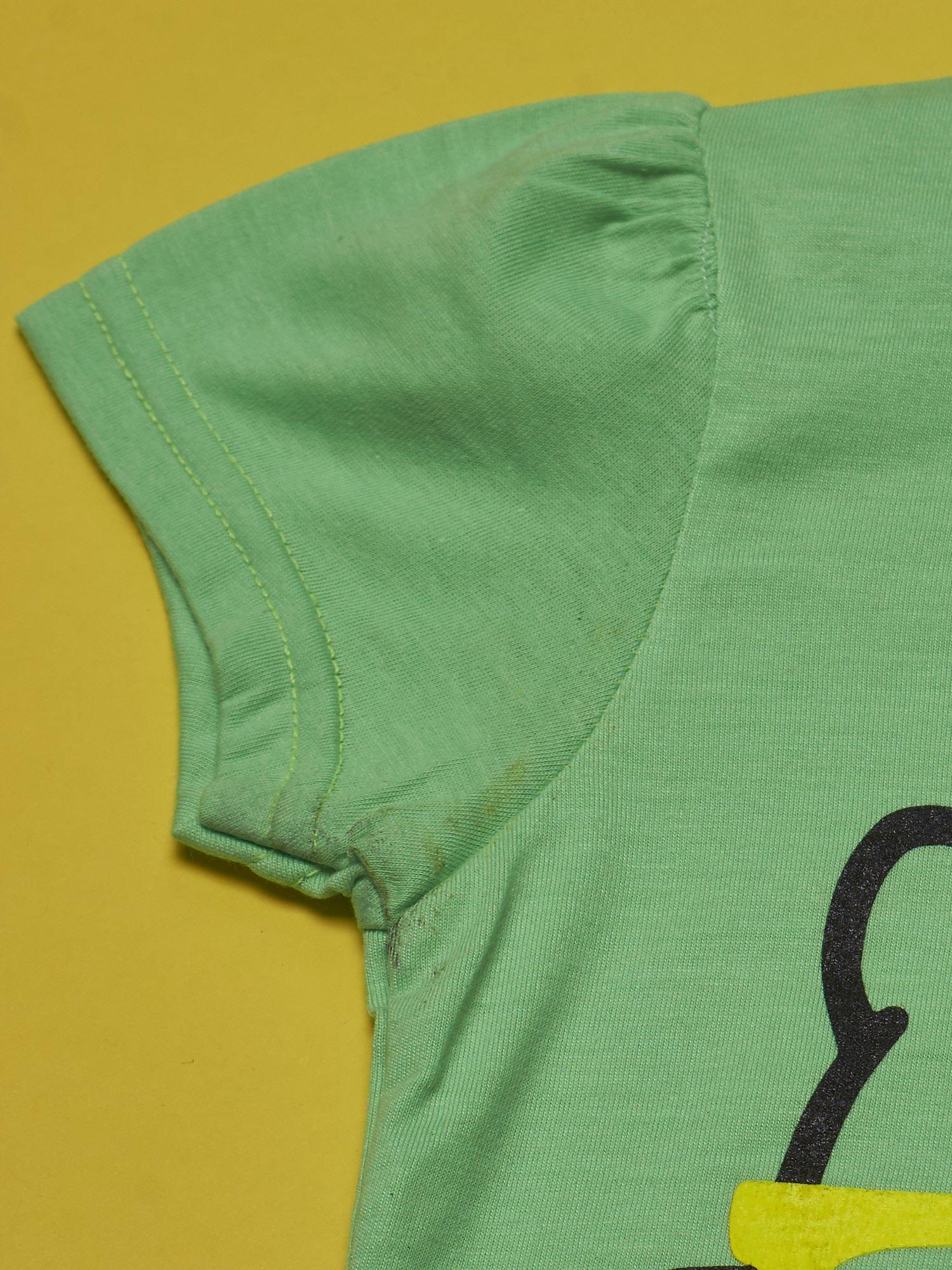 Zielony t-shirt dla dziewczynki HELLO KITTY                                  zdj.                                  3