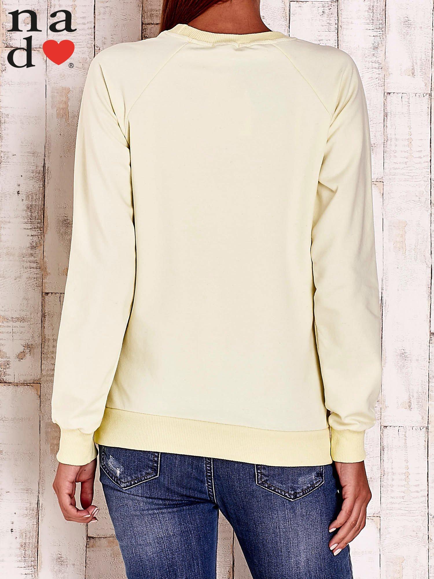 Żółta bluza w serduszka                                  zdj.                                  4
