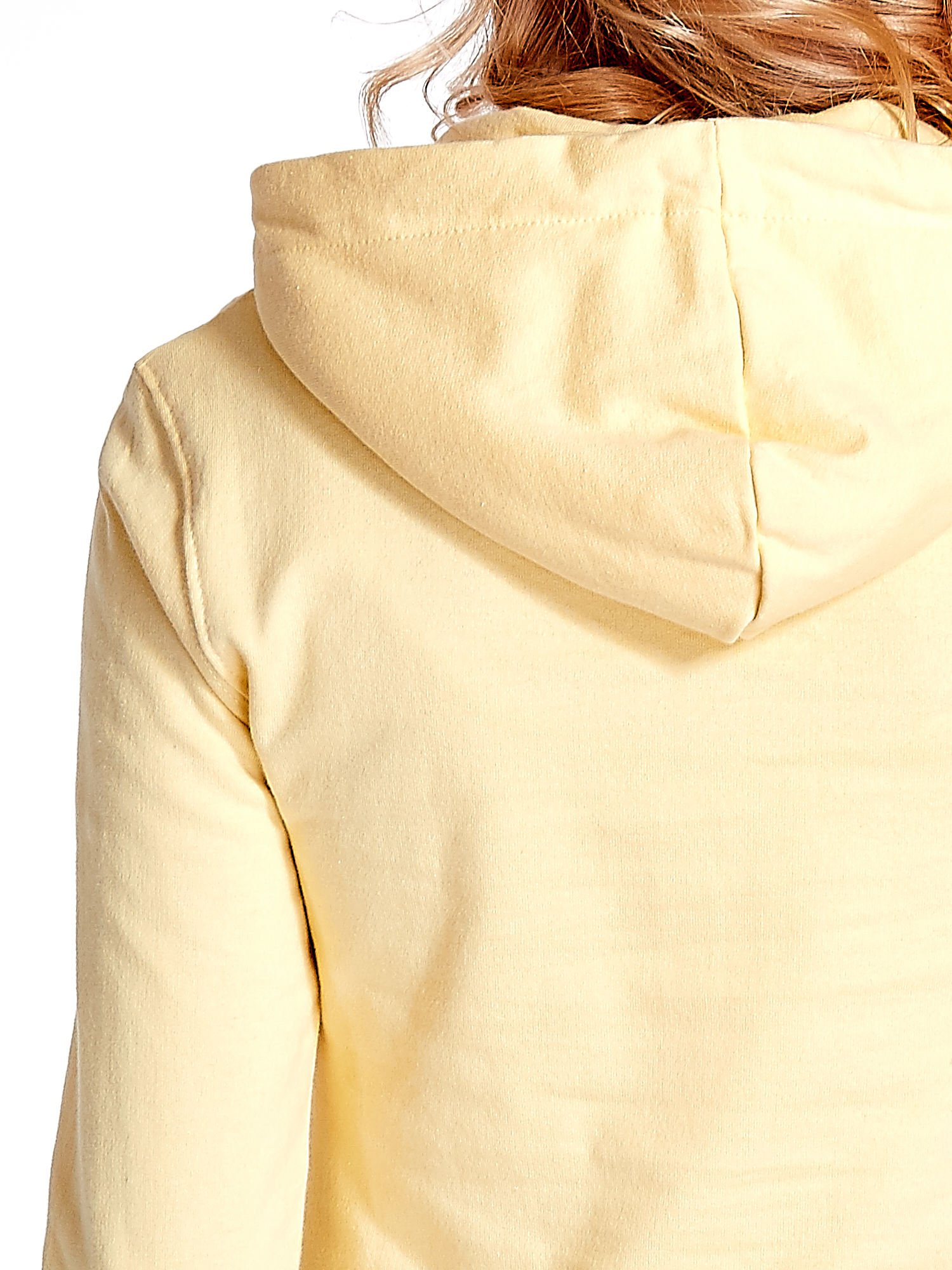 Żółta bluza z nadrukiem psa                                  zdj.                                  7
