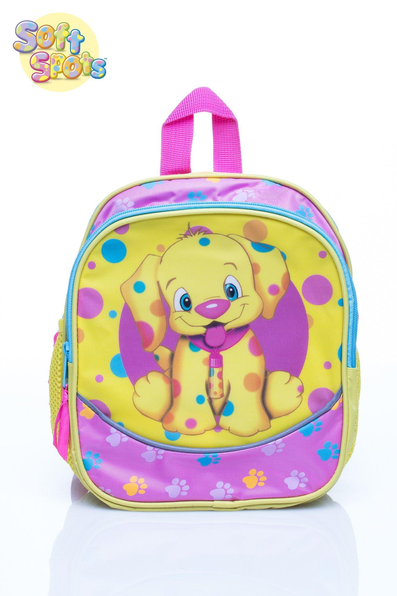 Żółty plecak na wycieczkę DISNEY Soft Spots                                  zdj.                                  1