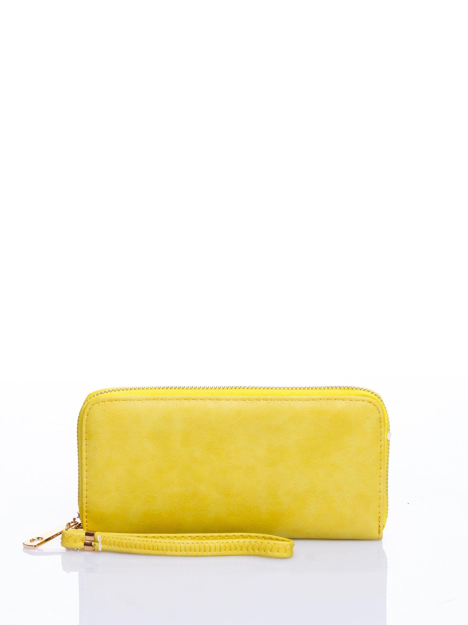 Żółty portfel z rączką                                  zdj.                                  1