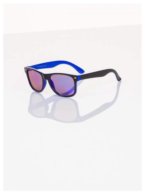 Dziecięce lustrzanki z filtrami UV -okulary z klasyczną oprawką WEYFARER NERD odporne na wyginania                                  zdj.                                  2