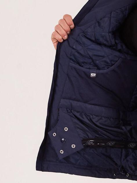 4F Granatowa kurtka narciarska dla mężczyzny                              zdj.                              9