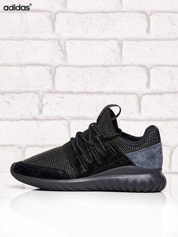 ADIDAS czarne buty męskie Tubular Radial z plecioną membraną                              zdj.                              5