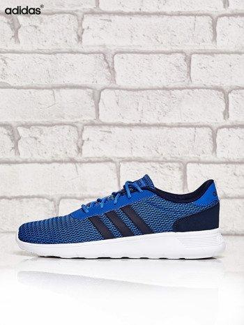 ADIDAS niebieskie buty męskie sportowe Lite Racer w graficzny wzór                              zdj.                              5