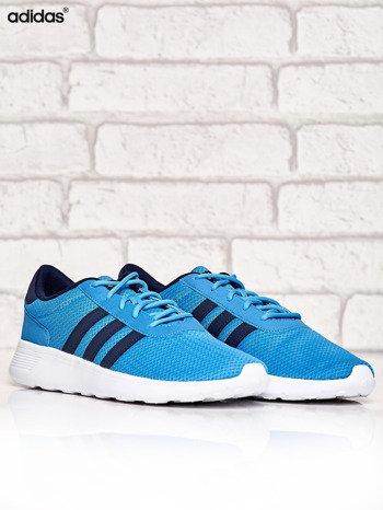 ADIDAS niebieskie buty męskie sportowe Lite Racer z wyższą podeszwą                              zdj.                              2
