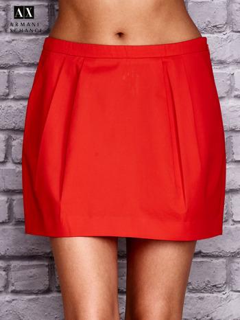 ARMANI Czerwona plisowana spódnica                                  zdj.                                  1