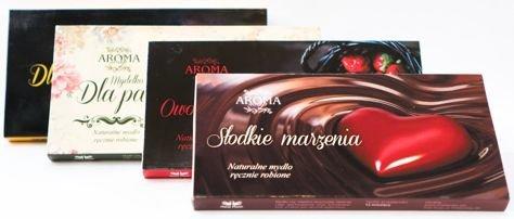 AROMA Soap Zestaw prezentowy 3 naturalne mydełka DLA PAŃ 3 x 50 g                              zdj.                              2