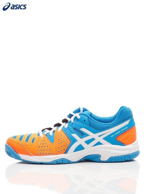 ASICS Niebieskie buty sportowe GEL PADEL PRO 3 GS                              zdj.                              5