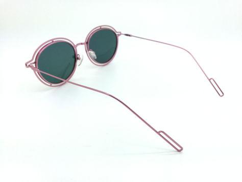 ASPEZO Okulary przeciwsłoneczne POLARYZACYJNE damskie różowe MAJORCA. Etui skórzane, etui miękkie oraz ściereczka z mikrofibry w zestawie                              zdj.                              3