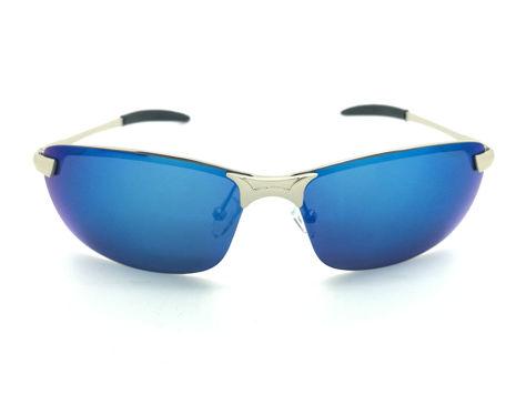 ASPEZO Okulary przeciwsłoneczne damskie POLARYZACYJNE niebieskie DAYTONA Etui skórzane, etui miękkie oraz ściereczka z mikrofibry w zestawie                              zdj.                              1