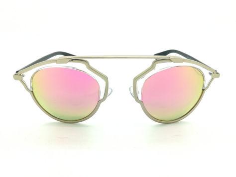 ASPEZO Okulary przeciwsłoneczne damskie POLARYZACYJNE różowe SAN FRANCISCO Etui skórzane, etui miękkie oraz ściereczka z mikrofibry w zestawie                              zdj.                              1