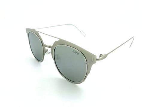 ASPEZO Okulary przeciwsłoneczne damskie POLARYZACYJNE srebrne VIENNA Etui skórzane, etui miękkie oraz ściereczka z mikrofibry w zestawie                              zdj.                              1