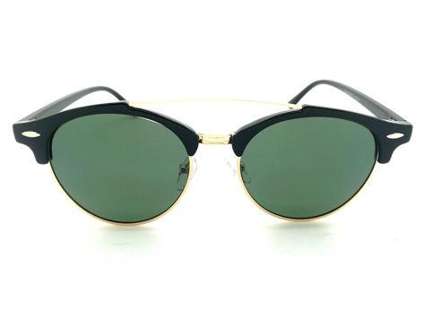 ASPEZO Okulary przeciwsłoneczne damskie POLARYZACYJNE zielone DUBAI Etui skórzane, etui miękkie oraz ściereczka z mikrofibry w zestawie                              zdj.                              1