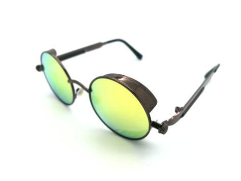 ASPEZO Okulary przeciwsłoneczne damskie POLARYZACYJNE zielono-brązowe AMSTERDAM Etui skórzane, etui miękkie oraz ściereczka z mikrofibry w zestawie                              zdj.                              2